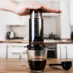 Aeropress, café
