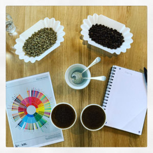 cupping j'aime thé café