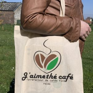 Tote bag  J'aime Thé Café